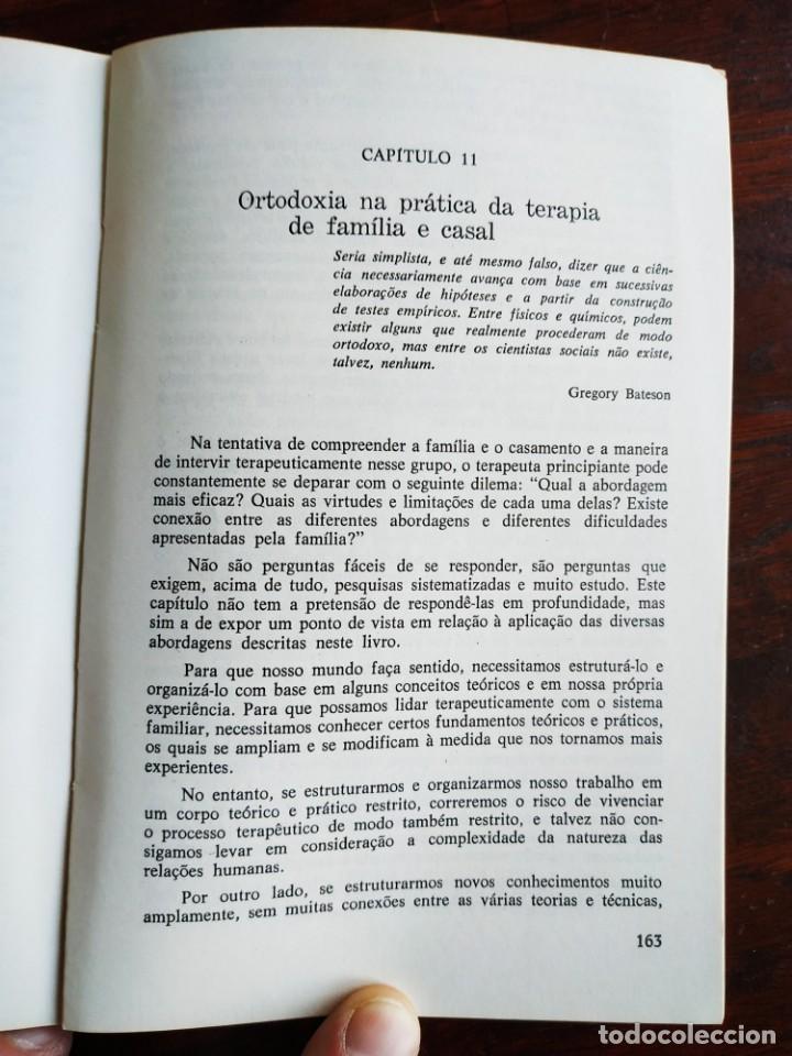 Libros: Libro Terapia Familiar e de casal. de Vera L. lamanno Calil. 1987 Terapias familiares y de pareja - Foto 11 - 199040188