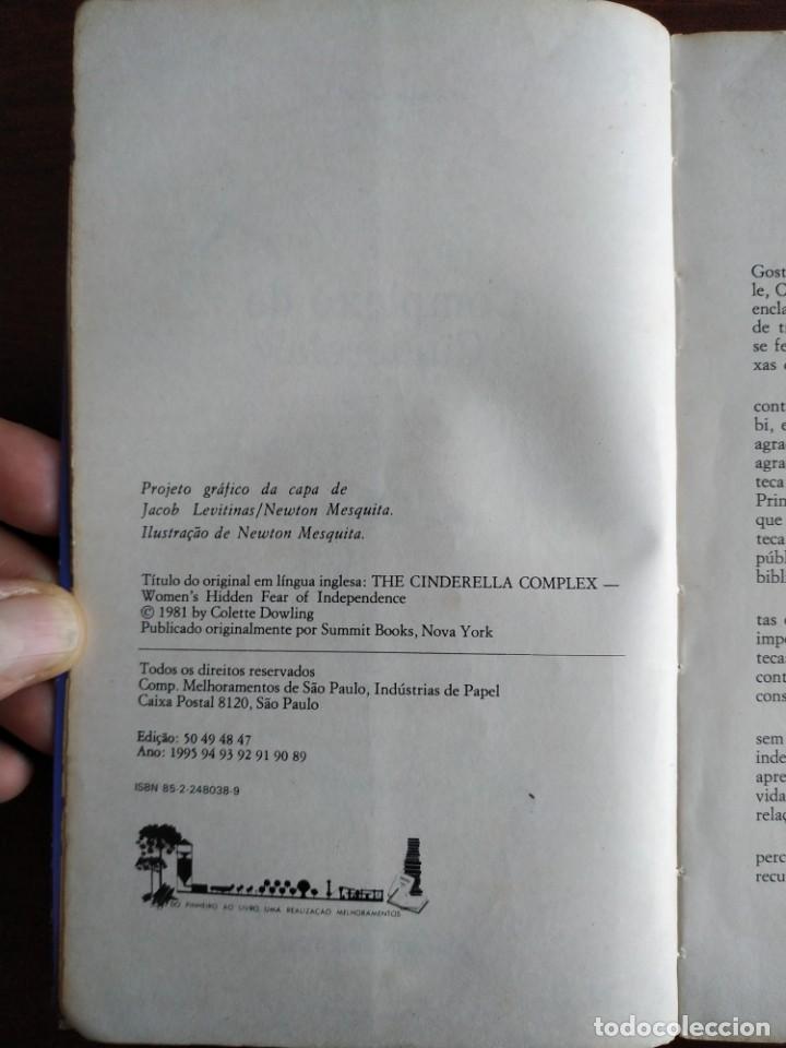 Libros: Libro Complejo de Cinderela de Colette Dowling, 47 edicion. Complejo de cenicienta, 1981 - Foto 2 - 199043958