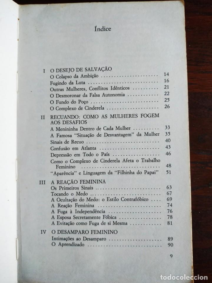 Libros: Libro Complejo de Cinderela de Colette Dowling, 47 edicion. Complejo de cenicienta, 1981 - Foto 4 - 199043958