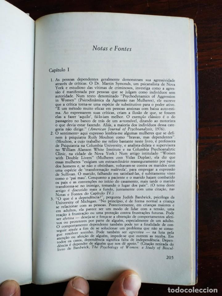 Libros: Libro Complejo de Cinderela de Colette Dowling, 47 edicion. Complejo de cenicienta, 1981 - Foto 10 - 199043958