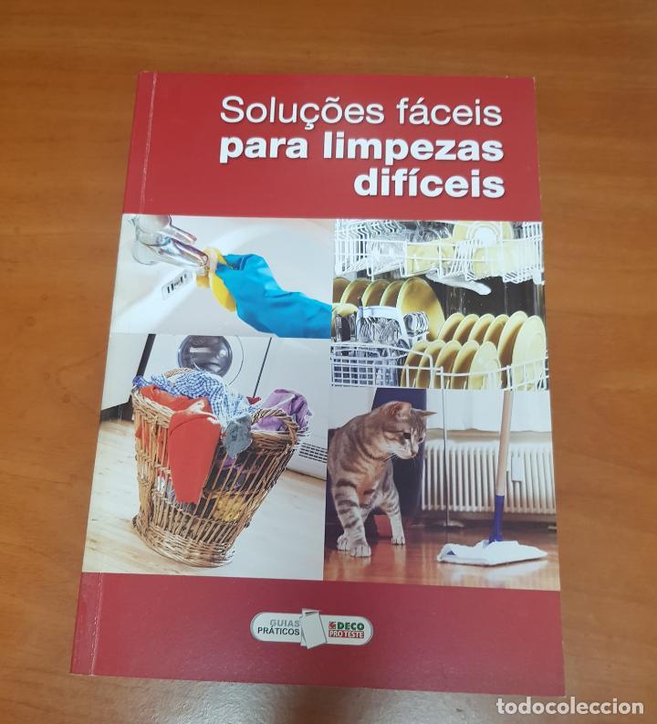 LIBRO SOLUCIONES FACILES PARA LIMPIEZAS DIFICILES (Libros Nuevos - Idiomas - Portugués)