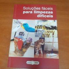 Libros: LIBRO SOLUCIONES FACILES PARA LIMPIEZAS DIFICILES. Lote 53093034