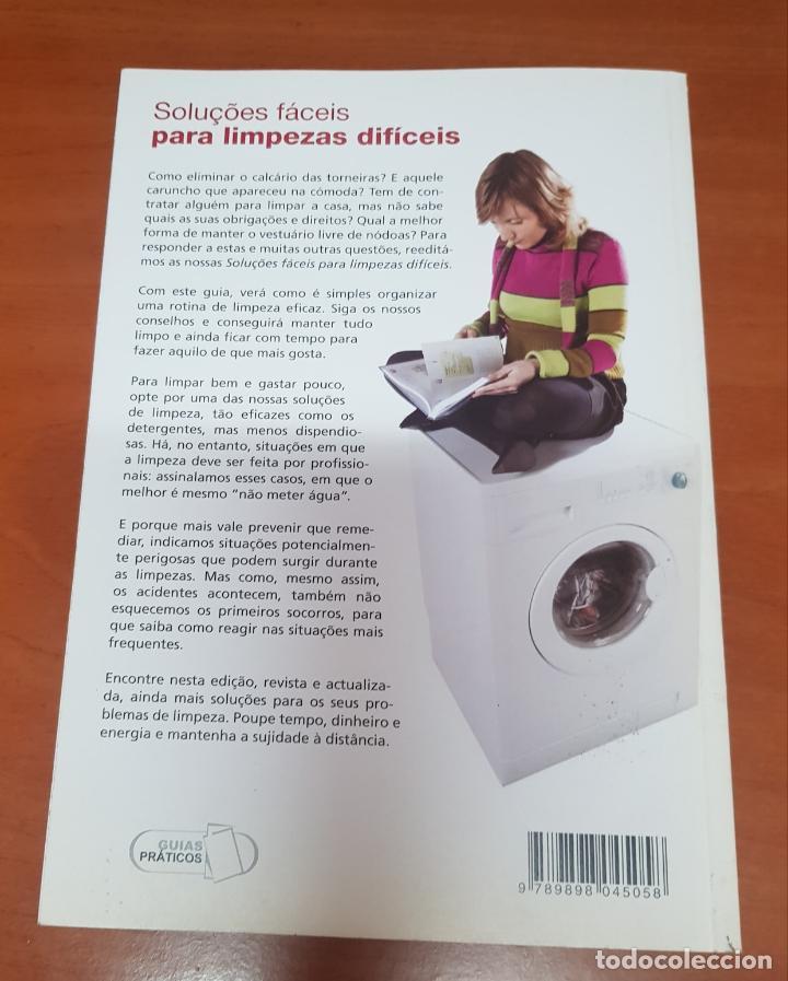 Libros: Libro Soluciones faciles para limpiezas dificiles - Foto 2 - 53093034