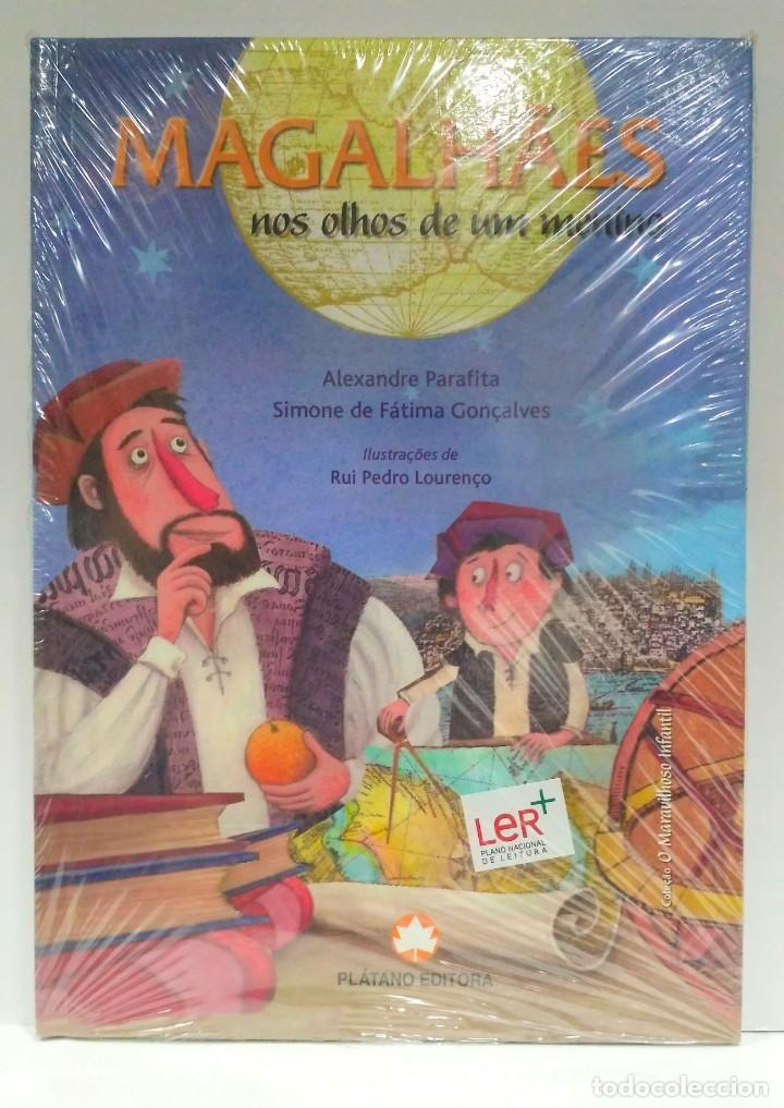 MAGALHÂES NOS OLHOS DE UM MENINO, ALEXANDRE PARAFITA Y SIMONE DE FÁTIMA. PLÁTANO ED. 9789727708673 (Libros Nuevos - Idiomas - Portugués)