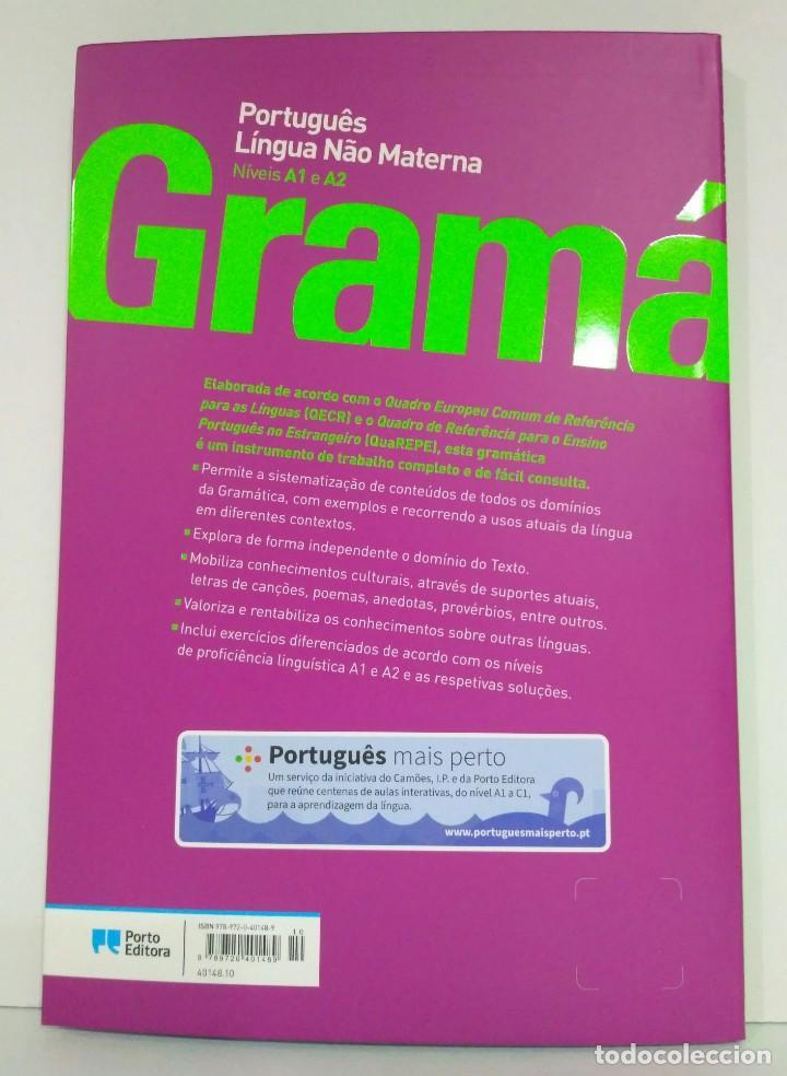Libros: Gramática Português Língua Nâo Materna. Níveis A1 e A2 Porto Editora (portugués) 9789720401489 - Foto 2 - 213311997