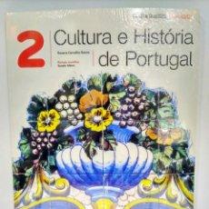 Libros: CULTURA E HISTÓRIA DE PORTUGAL 2 LIBRO ALUMNO + EJERCICIOS (TEXTO PORTUGUÉS) 5601023925759. Lote 215573468