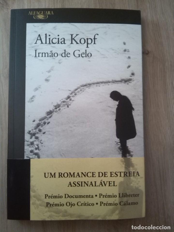 IRMAO DE GELO. ALICIA KOPF. EDITORIAL ALFAGURA. 2018 (Libros Nuevos - Idiomas - Portugués)