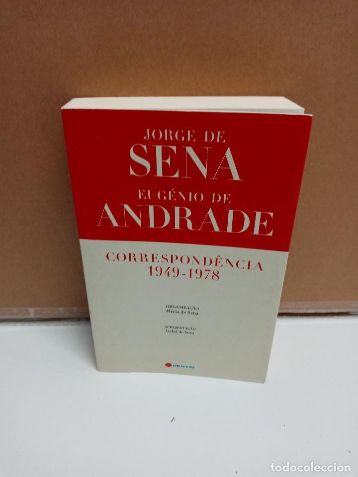 JORGE DE SENA / EUGENIO DE ANDRADE - CORRESPONDENCIA 1948-1978 - GUERRA & PAZ - IDIOMA: PORTUGUÉS (Libros Nuevos - Idiomas - Portugués)