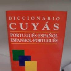 Libros: DICCIONARIO CUYAS ESPAÑOL PORTUGUES. Lote 266900774