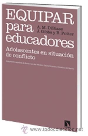 PSICOLOGIA. PSICOANALISIS. EQUIPAR PARA EDUCADORES. ADOLESCENTES EN SITUACIÓN DE CONFLICTO - ANN-MA (Libros Nuevos - Ciencias, Manuales y Oficios - Psicología y Psiquiatría )