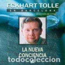 Libros: PSICOLOGÍA. ESPIRITUAL. ECKHART TOLLE EN BARCELONA LA NUEVA CONCIENCIA - ECKHART TOLLE + DVD. Lote 71092169