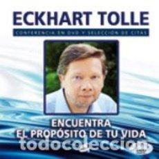 Libros: PSICOLOGÍA. ESPIRITUAL. ENCUENTRA EL PROPÓSITO DE TU VIDA - ECKHART TOLLE (CARTONÉ) + DVD. Lote 71092297