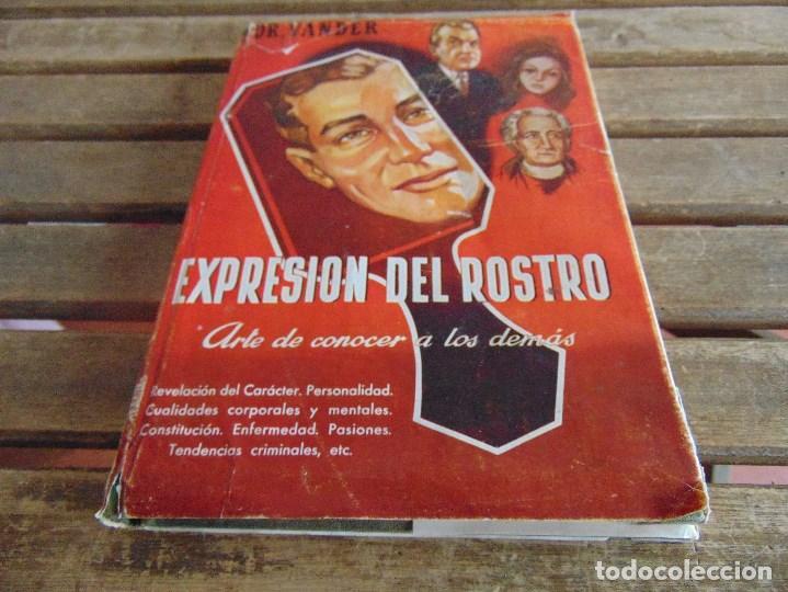 LIBRO EXPRESION DEL ROSTRO ARTE DE CONOCER A LOS DEMAS DR VANDER 1955 (Libros Nuevos - Ciencias, Manuales y Oficios - Psicología y Psiquiatría )