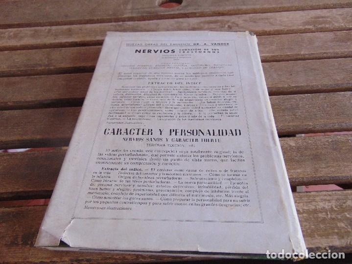 Libros: LIBRO EXPRESION DEL ROSTRO ARTE DE CONOCER A LOS DEMAS DR VANDER 1955 - Foto 4 - 264998634