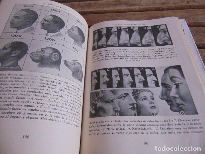 Libros: LIBRO EXPRESION DEL ROSTRO ARTE DE CONOCER A LOS DEMAS DR VANDER 1955 - Foto 8 - 264998634