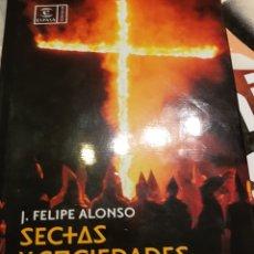 Libros: SECTAS Y SOCIEDADES SECRETAS. Lote 96495780