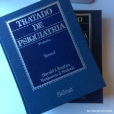 Libros: TRATADO DE PSIQUIATRÍA KAPLAN Y SADOCK TOMO 1 Y 2. Lote 103115920