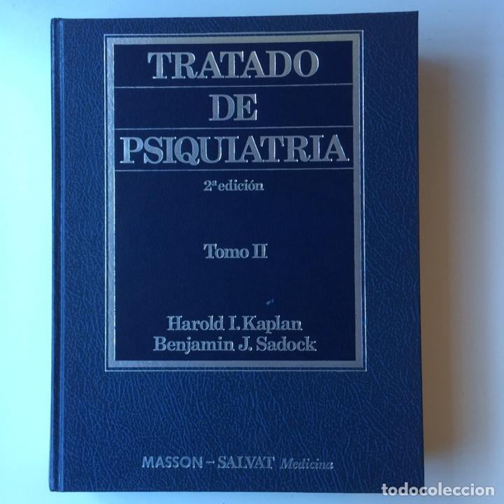 Libros: Tratado De Psiquiatría Kaplan y Sadock tomo 1 y 2 - Foto 3 - 103115920