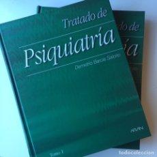 Libros: 2 TOMOS TRATADO DE PSIQUITRÍA KAPLAN Y SADOCK / PSIQUITRÍA DEMETRIO BARCIA SALORIO. Lote 103116070