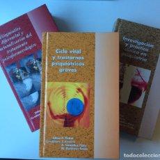 Libros: 3 LIBROS DE PSIQUIATRÍA P.PICHOT / PSIQUIÁTRICO. Lote 103116455
