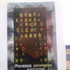 Libros: PROCESOS PSICOLOGICOS BASICOS , JULIO SANTIAGO, F.TORNAY, MCGRAWHILL. Lote 107217007