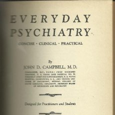Libros: EVERYDAY PSYCHIATRY. Lote 110683635
