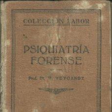 Libros: PSIQUIATRIA FORENSE. Lote 110684151