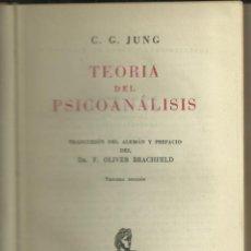 Libros: TEORIA DEL PSICOANÁLISIS,, DE C.G. JUNG. Lote 110684995