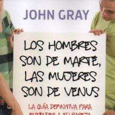Libros: LOS HOMBRES SON DE MARTE, LAS MUJERES SON DE VENUS DE JOHN GRAY - PENGUIN RANDOM HOUSE, 2018 (NUEVO). Lote 114681675