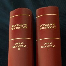 Libros: DONALD W. WINNICOTT OBRAS ESCOGIDAS 1 Y 2. Lote 120497739