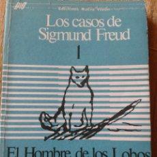 Libros: LOS CASOS DE SIGMUND FRED 1 EL HOMBRE DE LOS LOBOS POR EL HOMBRE DE LOS LOBOS. Lote 130175772