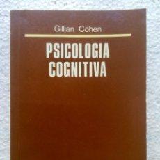 Libros: PSICOLOGÍA COGNITIVA. ALHAMBRA.. Lote 135052182