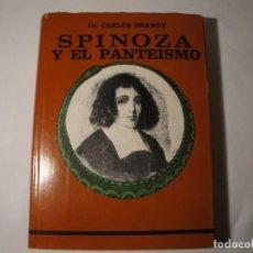 Libros: SPINOZA Y EL PANTEÍSMO. AUTOR: DR. CARLOS BRANDT. EDICIÓN 1972. NUEVO.. Lote 139870594