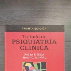 Libros: TRATADO DE PSIQUIATRIA CLINICA, 4ª ED.. Lote 145267426