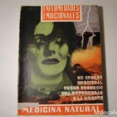 Libros: ENFERMEDADES EMOCIONALES. AUTOR: V.L.FERRÁNDIZ. AÑO 1960. ESTADO BUENO.. Lote 145909794