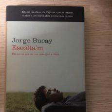 Libros: ESCOLTA'M JORGE BUCAY. Lote 151373748