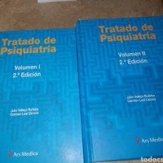 Libros: TRATADO DE PSIQUIATRÍA, JULIO VALLEJO Y CARMEN LEAL, ARS MEDICA. Lote 155821314