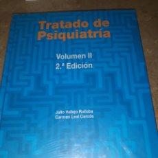 Libros: TRATADO DE PSIQUIATRÍA, JULIO VALLEJO Y CARMEN LEAL. VOLUMEN II ARS MEDICA. Lote 155822776