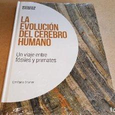 Libros: LA EVOLUCIÓN DEL CEREBRO HUMANO / NEUROCIENCIA Y PSICOLOGÍA / 11 / PRECINTADO.. Lote 171259074