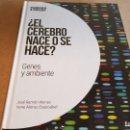 Libros: ¿ EL CEREBRO NACE O SE HACE ?/ NEUROCIENCIA Y PSICOLOGÍA / 03 / PRECINTADO.. Lote 160273490