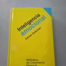 Libros: INTELIGENCIA EMOCIONAL. DANIEL COLEMAN. 9788472453715. Lote 169315640