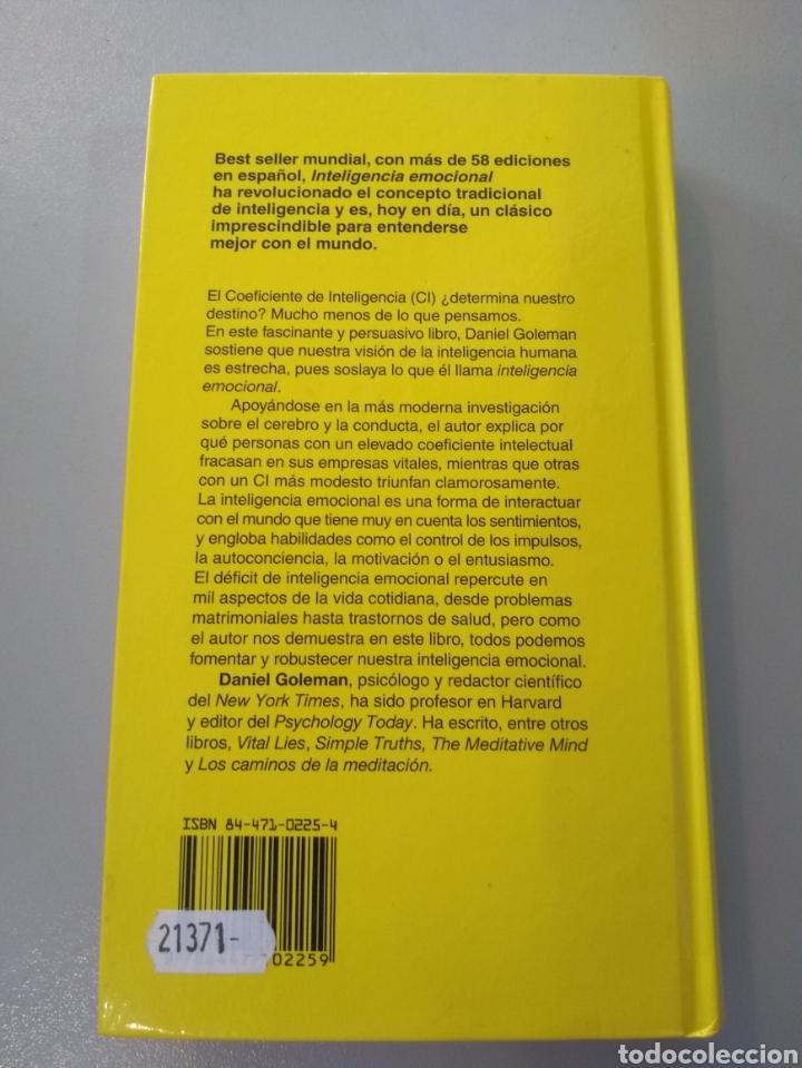 Libros: Inteligencia emocional. Daniel Coleman. 9788472453715 - Foto 2 - 275020088