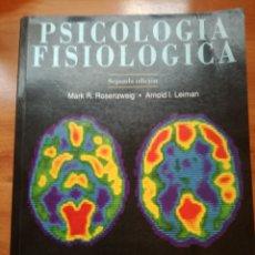 Libros: PSICOLOGIA FISIOLOGICA - MARK ROSENZWEIG.. Lote 175985952
