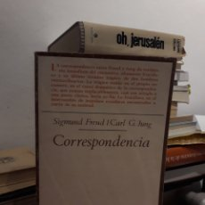 Libros: CORRESPONDENCIA-SIGMUN FREUD Y CARL G JUNG. Lote 176170209