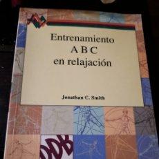 Libros: ENTRENAMIENTO A B C EN RELACIÓN. Lote 176777468