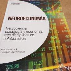 Livres: NEUROECONOMÍA/ NEUROCIENCIA Y PSICOLOGÍA / 35 / PRECINTADO.. Lote 198134820
