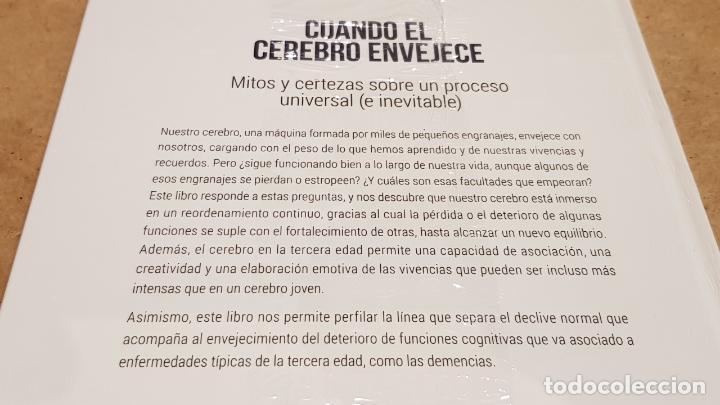 Libros: CUANDO EL CEREBRO ENVEJECE / NEUROCIENCIA Y PSICOLOGÍA / 34 / PRECINTADO. - Foto 2 - 198134663