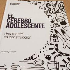 Libros: EL CEREBRO ADOLESCENTE / NEUROCIENCIA Y PSICOLOGÍA / 30 / PRECINTADO.. Lote 198134558