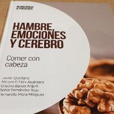 Livres: HAMBRE, EMOCIONES Y CEREBRO / NEUROCIENCIA Y PSICOLOGÍA / 38 / PRECINTADO.. Lote 198134497