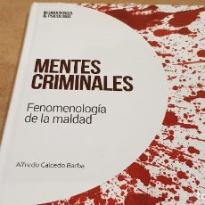 Livres: MENTES CRIMINALES / NEUROCIENCIA Y PSICOLOGÍA / 33 / PRECINTADO.. Lote 225190266